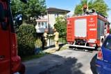 Błyskawiczna akcja strażaków na osiedlu Magdalena w Gorlicach