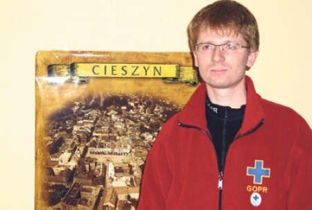 Krzysztof Banot jest świeżo upieczonym ratownikiem. Wie już, ile trzeba się natrudzić, aby nim zostać.