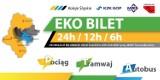 Od dziś Eko Bilet w dwóch nowych wersjach. Honoruje go także nowy przewoźnik [CENY]
