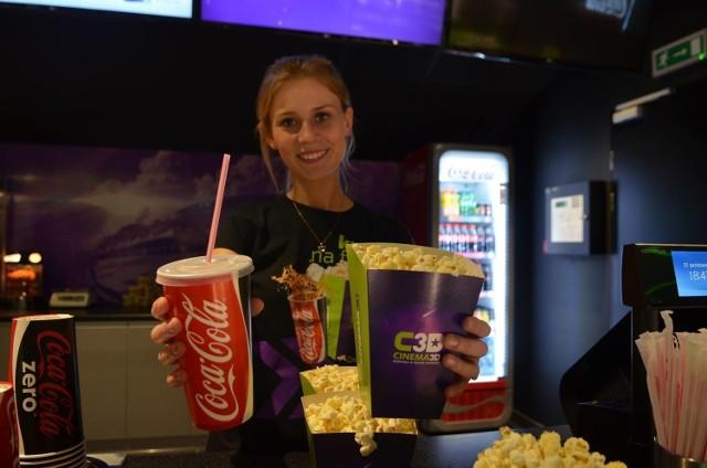 Kino Cinema 3D mieści się w galerii Manhattan