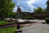 Archeolodzy powrócili w okolice muru obronnego w Wieluniu FOTO
