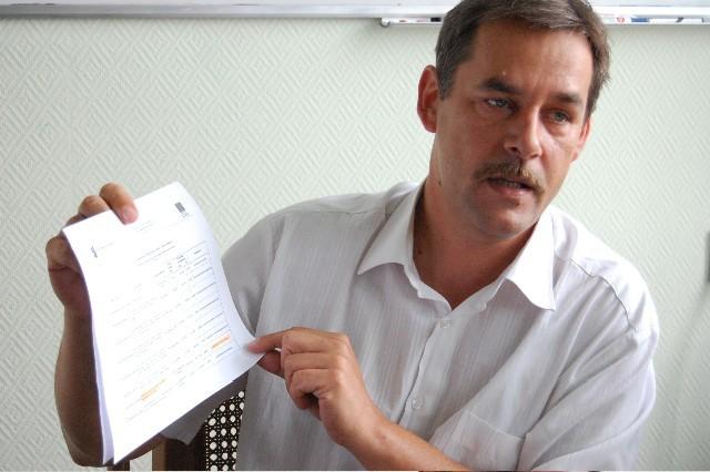 Burmistrz Chojnic, Arseniusz Finster