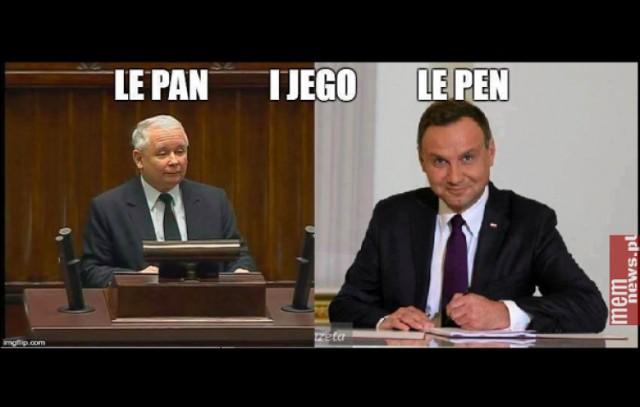 Len pen to długopis? Internet komentuje wybory we Francji [MEMY]