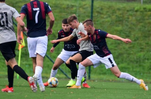 Pogoń Szczecin w ostatnim meczu pokonała Gwarka Zabrze 1:0.