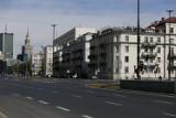 Puste ulice w Warszawie. Miasto opustoszało. Tak wygląda stolica w czasie Świąt! [ZDJĘCIA]