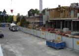Hotel Hilton przy Łąkowej szybko pnie się w górę [zdjęcia]