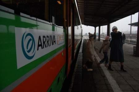 Pierwsze prywatne pociągi kursują m.in. z Chojnic. Fot. Maria Sowisło