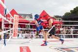Turniej bokserski przed ratuszem w Słupsku [ZDJĘCIA]