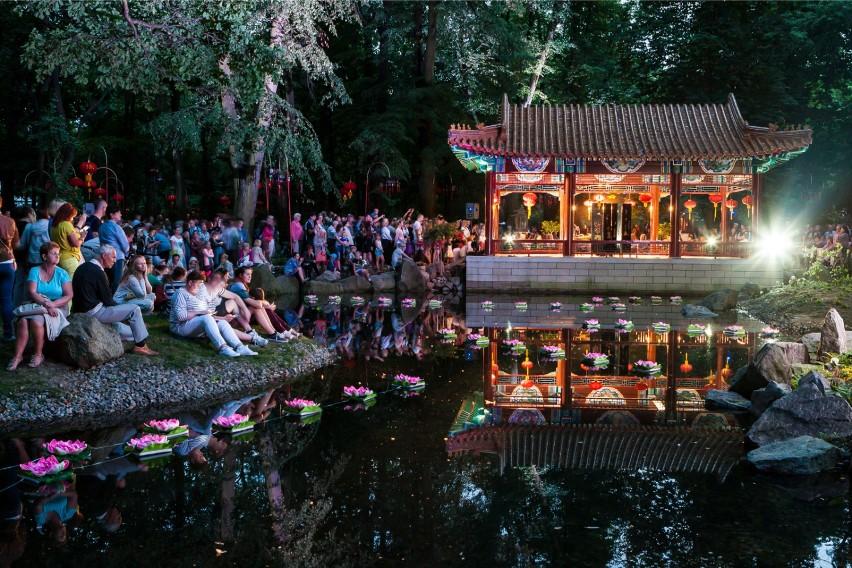 Festiwal światła W łazienkach Ogród Chiński Ponownie Nas