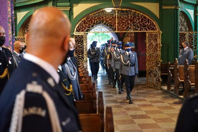 Wojewódzkie obchody Święta Policji w Kujawsko-Pomorskiem odbyły się w środę, 28 lipca, w Bydgoszczy.