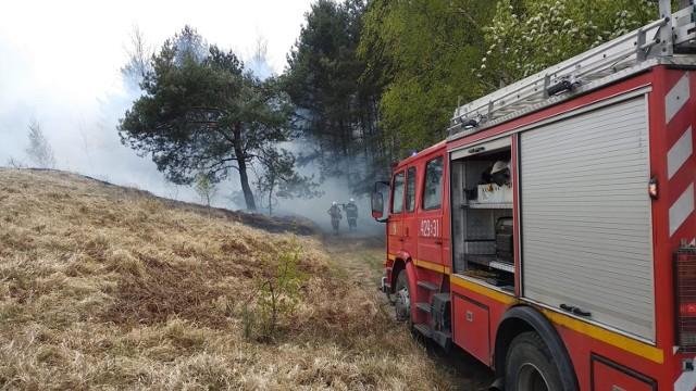 Ochotnicza Straż Pożarna w Libiążu w akcji