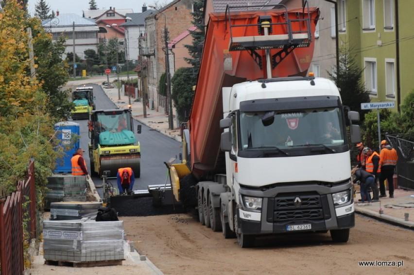 Inwestycje w Łomży. Kończą się remonty ulic. Zobacz, które prace zakończą się jeszcze w październiku [zdjęcia]