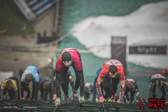 Start w Barbarian Race to przede wszystkim walka ze swoimi słabościami