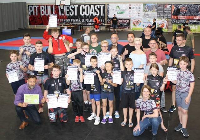 23 medale MMA Tornado Kalisz w Mosinie