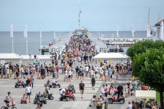 Około 30 tysięcy osób weszło w ostatni weekend na sopockie molo!