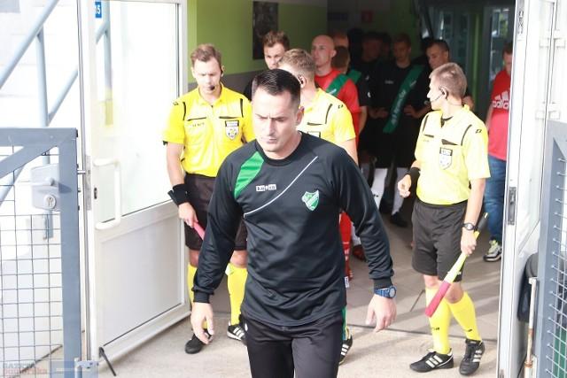 Daniel Osiński nie jest już trenerem Cuiavii Inowrocław
