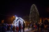 Świąteczne iluminacje w Kraśniku. Miasto szykuje się na święta. Zobacz galerię zdjęć