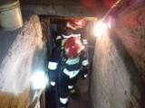 Pożar w piwnicy i zadymienie [ZDJĘCIA]