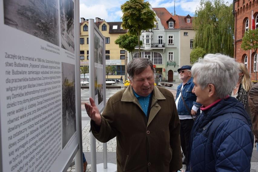 Wyprawa w przeszłość Szczecinka. Ciekawa wystawa na placu Wolności [zdjęcia]