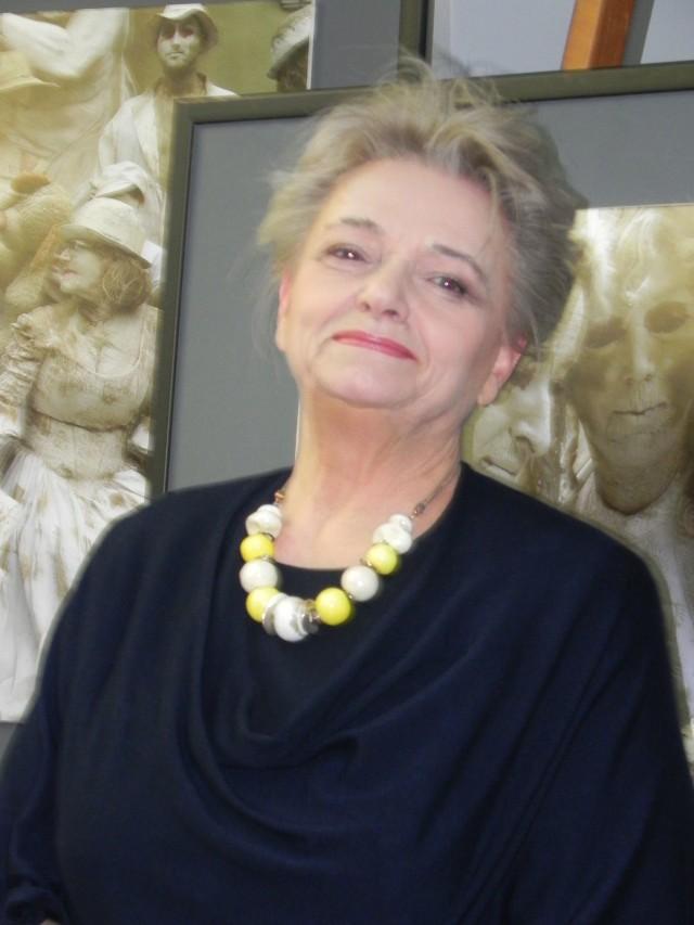 Anna Seniuk w Ostrowcu Świętokrzyskim.