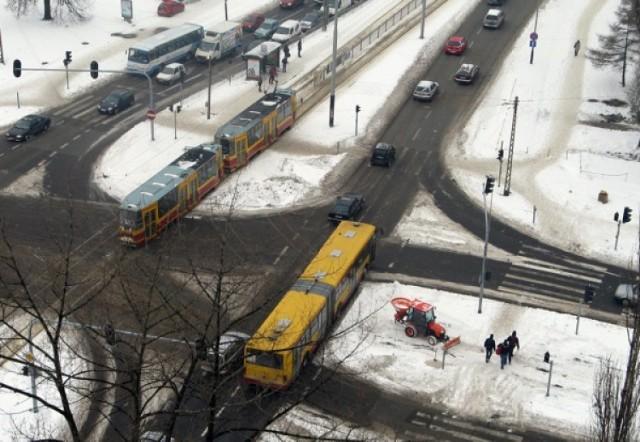 Zima zaskoczyła tym razem nie tylko drogowców.