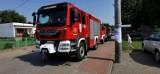 Poświęcenie strażackich wozów bojowych w Mikołajkach Pomorskich w dniu św. Krzysztofa