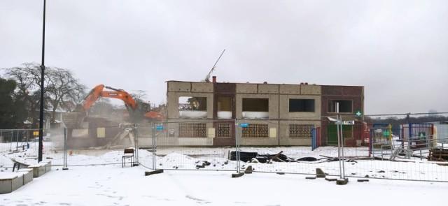 Stadion Pogoni - 4 stycznia 2021.