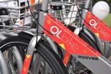Miejski rower w Oleśnicy cieszy się zainteresowaniem, ale jest awaryjny i niszczony