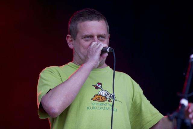W niedzielę na Otwieraczu 2013 na scenie w Myślęcinku wystąpił legendarny zespół Kult. Fot. Marek Wiśniewski