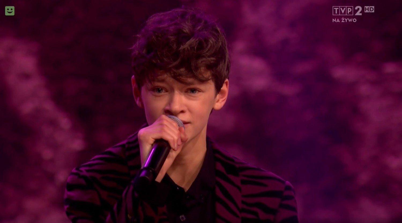 Olek z Kutna zaśpiewał w wielkim finale The Voice Kids ...