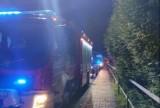 Śmiertelny wypadek w Barwałdzie Górnym. Zderzenie samochodu osobowego z motocyklem