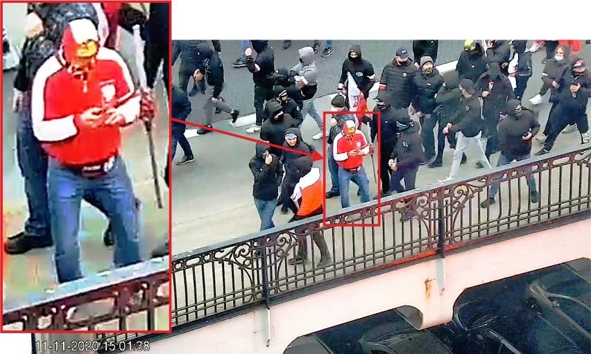 Marsz Niepodległości - Policja publikuje wizerunek osób, które łamały prawo. Apel o pomoc w poszukiwaniach