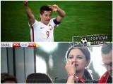 Mecz Polska - Rumunia... i trzy bramki Lewego [MEMY]