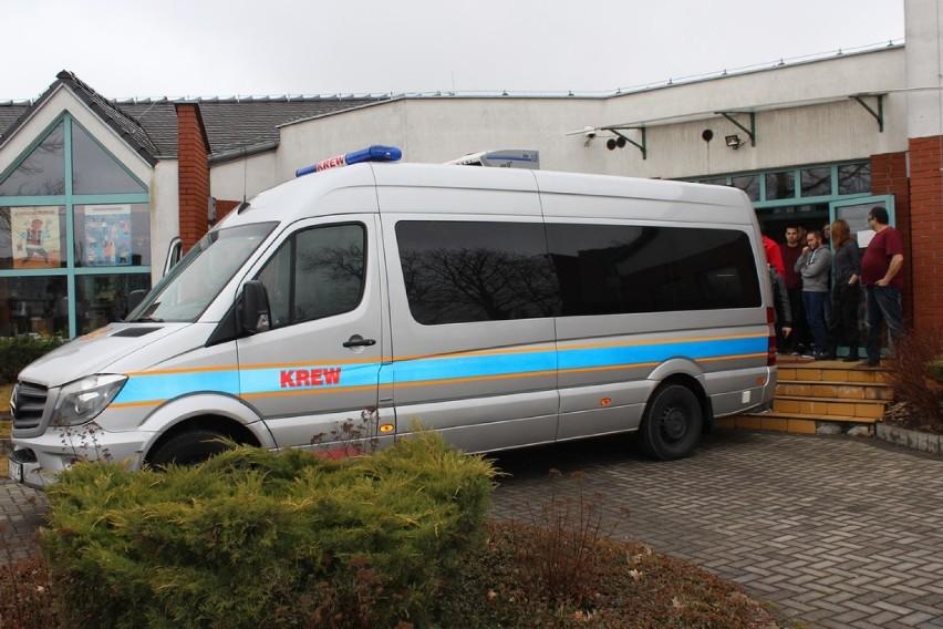 Klub HDK Cenne Krople. Akcja poboru krwi w Liceum w Zbąszyniu.