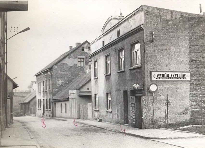 Dawna ul. Pstrowskiego, Mikołow, połowa lat 70.