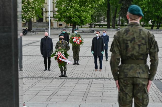 Uroczystości z okazji 85. rocznicy śmierci marszałka Józefa Piłsudskiego