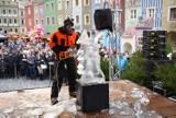 Rzeźby lodowe w Poznaniu: Trwają zawody w Speed Ice Carvingu [ZDJĘCIA]