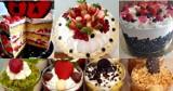 Torty i inne słodkości ze świeżymi owocami. Idealne do kawy w upalne dni