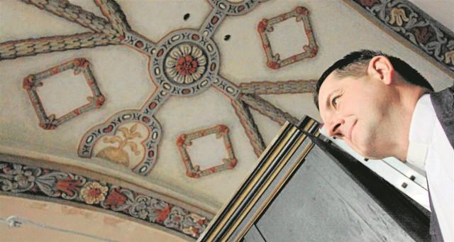 Polichromie u Panien w Piotrkowie odkryto zniszczono podczas remontu