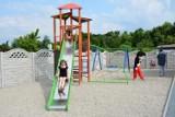 Zabrze: Na ogródkach działkowych otwarto plac zabaw. ZDJĘCIA