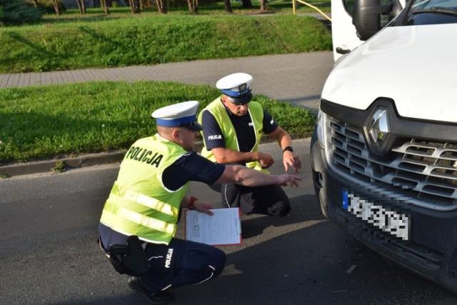 Do wypadku doszło na przejściu dla pieszych przy ul. Obrońców Chojnic w Chojnicach