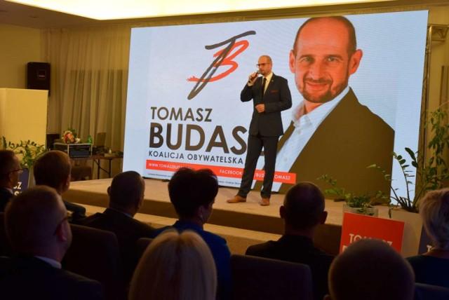 Zobacz zdjęcia z konwencji wyborczej Tomasza Budasza i jego kandydatów