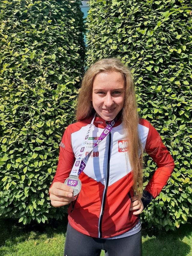 Hanna Perfikowska wywalczyła srebro w kat. U18 podczas Szkolnych Mistrzostw Świata w biegach na orientację zorganizowanych w Belgradzie