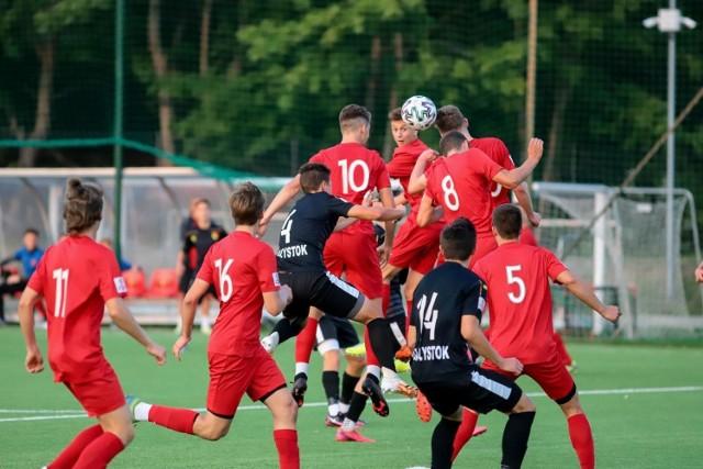 Piłkarze Jagiellonii Białystok pokonali Escolę Varsovia Warszawa w meczu 5. kolejki Centralnej Ligi Juniorów U-17