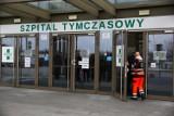 Kraków. Hala EXPO zmieniła się w szpital tymczasowy. Od dzisiaj przyjmuje pierwszych pacjentów