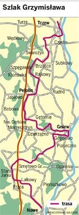 Szlakiem Grzymisława przemierzmy Kociewie z północy na południe