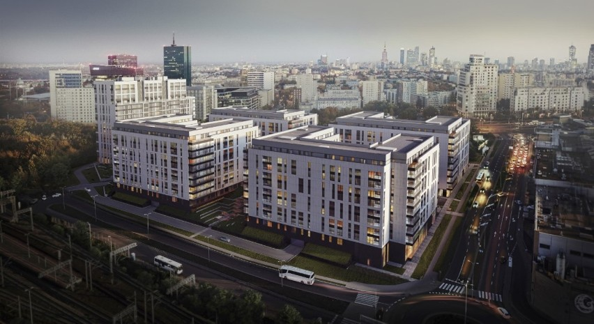 Central Garden Apartments Ponad Tysiąc Mieszkań Przy