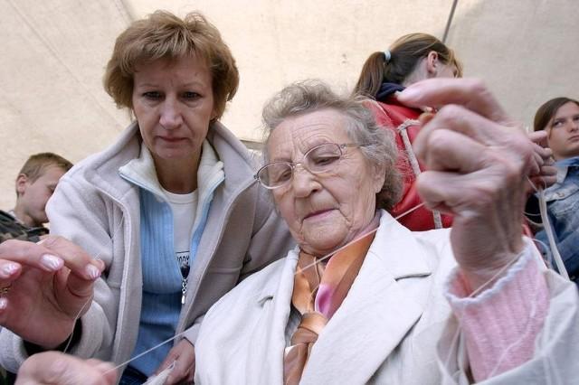 W Bielawie tkaczami były cale rodziny i pokolenia.