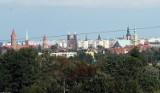 Tak wygląda Legnica na zdjęciach widziana z wysokości miejscowości Lipce