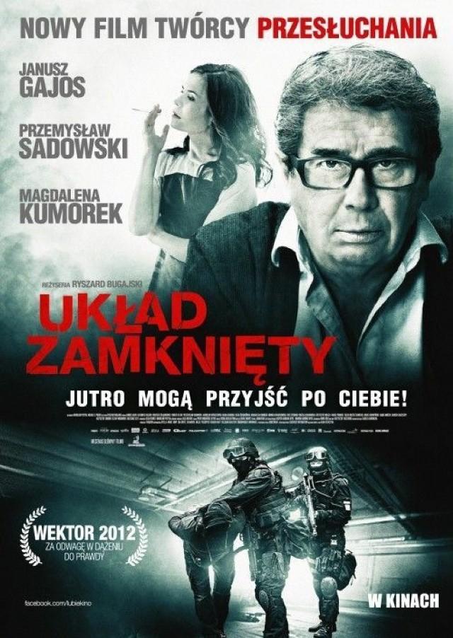Układ zamknięty, plakat filmweb.pl